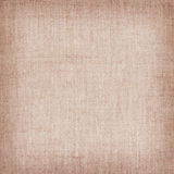 Brown natural linen texture for the background Stock Images