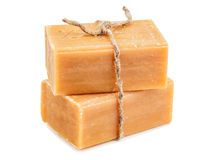 Brown natural soap Royalty Free Stock Photo