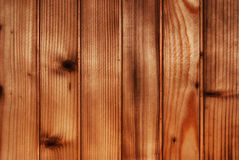 Brown natural wood background Royalty Free Stock Photography