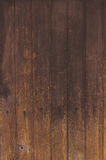 Brown natural wood wall texture and background seamless.  Stock Images