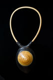 Brown Necklace ethnic jewelry jewelry Stock Photo