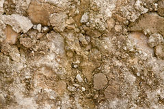 Brown and Neutral Stone Wall Background Texture Royalty Free Stock Images