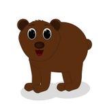 Brown niedźwiedź royalty ilustracja