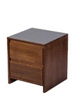 Brown nightstand Royalty Free Stock Image