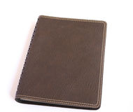 Brown notatnik Fotografia Royalty Free