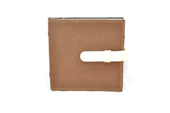 Brown note book Royalty Free Stock Images