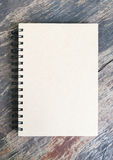 Brown note book Royalty Free Stock Photography