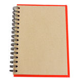 Brown note book Stock Photography