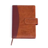 Brown notebook Stock Photos
