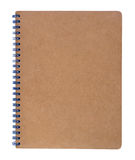 Brown notebook Royalty Free Stock Images