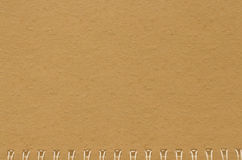 Brown notebook paper background,old notebook textur Stock Photos