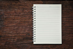 Brown notebook Royalty Free Stock Photos