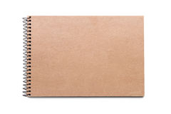 Brown-Notizbuch Stockbilder
