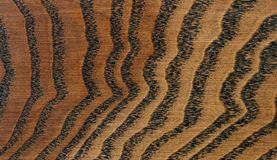 Brown oak wood texture Stock Image