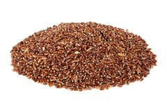 Brown oat grain Royalty Free Stock Photos