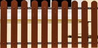 Brown ogrodzenie Zdjęcie Royalty Free