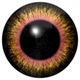 Brown oka żółta zwierzęca tekstura ilustracji