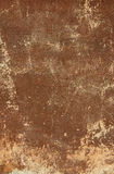 Brown old antique wall as background. Royalty Free Stock Image