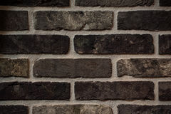 Brown old brick wall background texture Royalty Free Stock Images