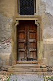 Brown old door Royalty Free Stock Photography
