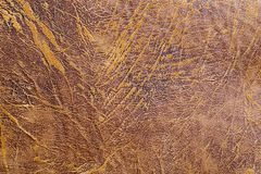 Brown old leather textured background, fashion design, wallpaper Royalty Free Stock Images