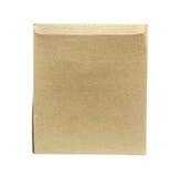 Brown Old packaging cardboard Royalty Free Stock Images