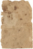 Brown Old Paper Stock Image