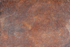 Brown old rusted corroded metal or steel sheet Stock Photos
