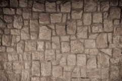 Brown Old stone vintage background textured Stock Photography