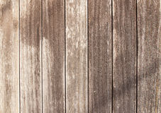 Brown old wood background and texture Stock Images