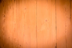 Brown old wood texture with knot Stock Images