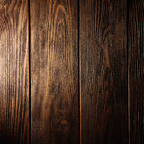 The brown old wood texture with knot Royalty Free Stock Photos