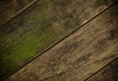 The brown old wood texture with knot Royalty Free Stock Images