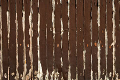 Brown old wooded wall Royalty Free Stock Photography