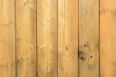 A brown old wooden wall Stock Photography