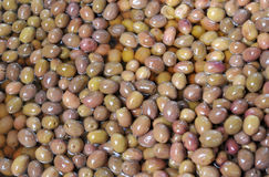 Brown olives Royalty Free Stock Images