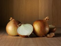 Brown Onions Royalty Free Stock Image