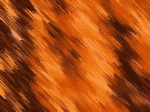 Brown orange and dark brown painting texture Royalty Free Stock Images