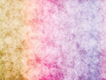 Colorfull polygon background. Brown, orange, pink, violet polygon abstract vector background Royalty Free Stock Image