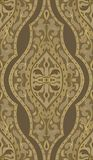 Brown oriental pattern. Royalty Free Stock Photos