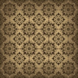 Brown ornamental background Royalty Free Stock Photos