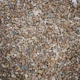 Brown otoczaki jako tło wizerunek Zdjęcia Royalty Free