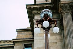 Brown Outdoor Lamp Close Up Photography Royalty Free Stock Photo