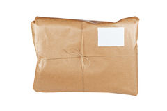 Brown package Royalty Free Stock Photo