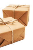 Brown Package Royalty Free Stock Photography