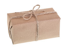Brown Package Isolated Royalty Free Stock Image