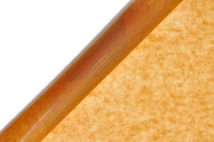 Brown package paper Stock Image
