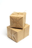 Brown Packages Stock Images