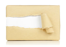 Brown packages Stock Photo
