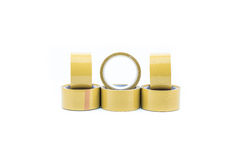 Brown packaging tape Stock Photos
